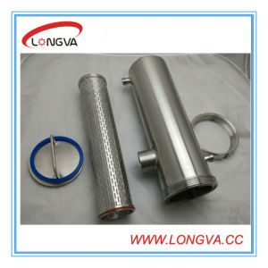 Stainless Steel Insulated Chocolate Pipe Filter pictures & photos