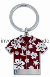 Zinc Alloy T-Shirt Keychain for Souvenir pictures & photos