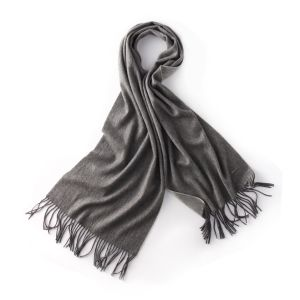 Fashionable 100% Cashmeres Long Pashmina Winter Scarf with Fringe (LS-CM-1007) pictures & photos