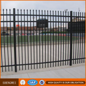 Powder Coated Galvanized Steel Fence pictures & photos