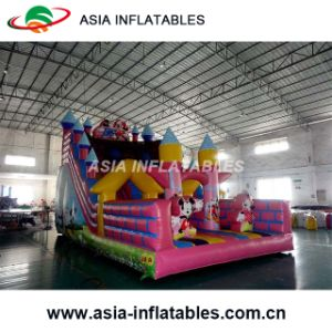New Inflatable Toy Cartoon Jumping Castle with Slide pictures & photos