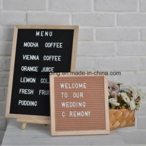 wooden advertising letter board