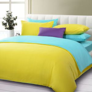 Solid Color Bedding Set 100% Polyester (BS-BS003)