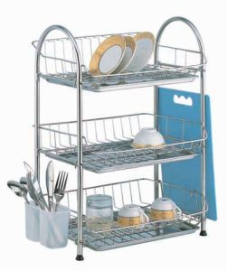 China 3 Tier Dish Rack Cf 302 China Dish Rack Stainless Steel