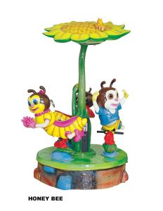 Kiddie Ride Carousel -Honey Bee /Entertainment New Amusement Park Carousel