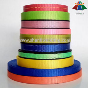 Hot Selling Colorized Nylon / Polyester / PP Webbing for Dog Collars and Leashes pictures & photos