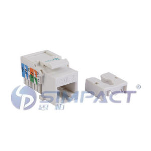 UTP Cat5e Keystone Jack-Simpact pictures & photos