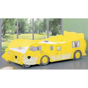 2014 Modern Yellow Kid′s Bedroom Furniture Kids Car Bed (WJ277472) pictures & photos