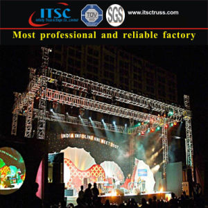Aluminum Truss Mobile Stage System for Stage Lighting