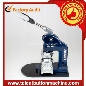 Compact & Lightweight Interchangeable Mold Button Making Machine Sdhp-N1 pictures & photos