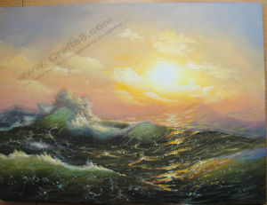 Seascape & Boat Painting -013