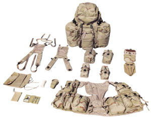 Outdoor Camouflage Sport Military Army Packsack Canvsas Duffel Backpack with Belts pictures & photos