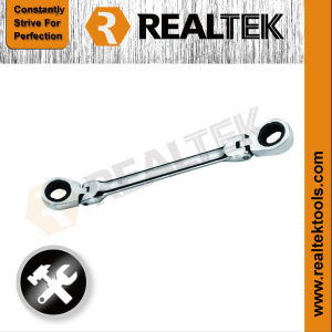 Flexible Double Ring Gear Wrench pictures & photos