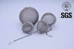 Stainless Steel Mesh Tea Strainer/Filter/Infuser/Tea Ball pictures & photos
