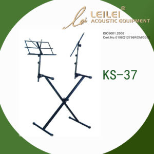Heavy-Duty Double X Keyboard Stand (KS-37) pictures & photos