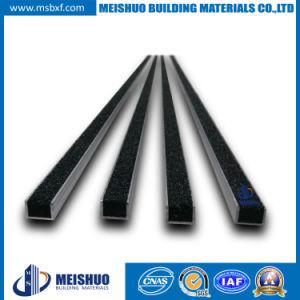 China Indoor Anti Slip Stair Nosing Strip with Carborundum Insert ...
