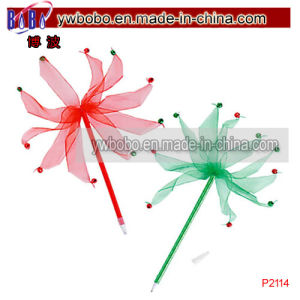 Christmas Gifts Promotion Pen Jingle Pens Holiday Decoration (P2114) pictures & photos