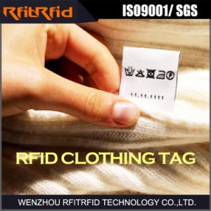 UHF Security Clothing RFID Tag for Data