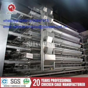 Chicken Laying Hens Cages with Ventilation and Heating System (A-3L90) pictures & photos