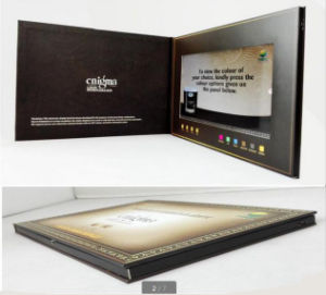2017 Chinese Factory LCD Video Greeting Card pictures & photos
