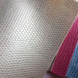 Pebble PVC Leather for Cosmetic Cases Bags pictures & photos