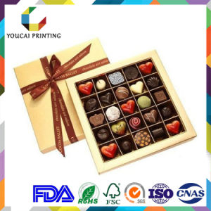 Factory Price Cardboard Food Grade Chocolate Box