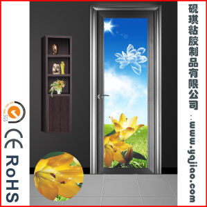 PVC Film Type Stereoscopic Chip Film for Door Frame Cover Directly pictures & photos