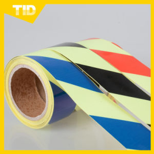 Luminescent Film for Safety Guide, Green Grow Tape in The Dark pictures & photos