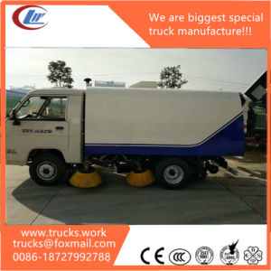 3cbm Foton Dry Type Road Sweeper Wash Truck pictures & photos