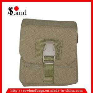 Military Brown Frag Grenade Pouch