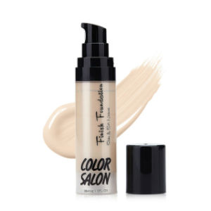 Light Silky Liquid Foundation Cream 30ml Soft Touching Bright Face Makeup Fo0345 pictures & photos