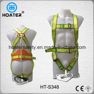China High Qaulity Safety Belt Construction Safety Harness with Lanyard