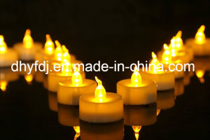 Battery-Powered Flameless LED Tealight Candles pictures & photos