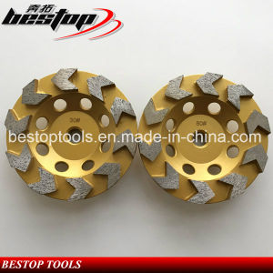 Metal Diamond Cup Wheel 10 Segment for Grinding pictures & photos