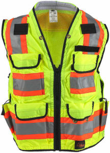 High Luster Safety Vest with En, Direct Factory, Cheap Price pictures & photos