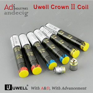 Rebuildable Changeable Coils Steel Vaporizer Crown Atomizer Rda Uwell Crown 2 Coil pictures & photos