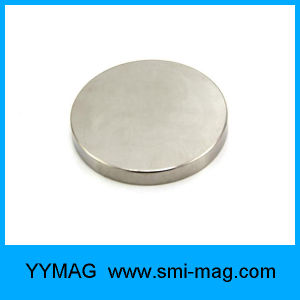 "Nickel Coated 1.26""X0.06"" Neodymium Disc Magnet for Sale pictures & photos"