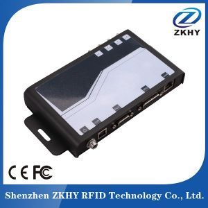 860~960MHz 4-Channel Long Reading Distance Fixed RFID UHF Reader pictures & photos