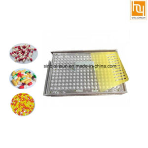 100 Holes Manual Capsule Filling Boards with Tampering Tool