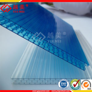 Twin Wall Polycarbonate Hollow Roofing Sheets pictures & photos