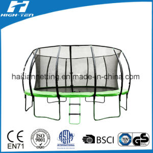 14FT Lantern/Pumpkin Trampoline with Safety Net for Kids and Adults