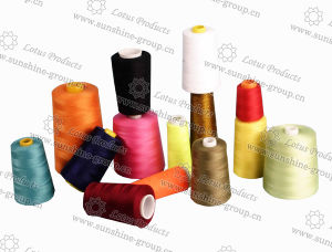 100% 40/2 Polyester Sewing Thread pictures & photos