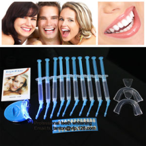 Wholesale LED Home Laser Foil Bag Teeth Whitening Kits for Salon. 18%Cp