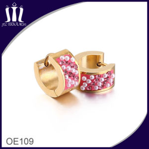 Europe Popular Custom Rose Earrings for Women pictures & photos