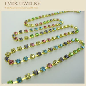 Multi-Color Rhinestone Cup Chain pictures & photos