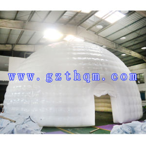 Double White PVC Inflatable Tent/Arc Bubble Inflatable Tent pictures & photos