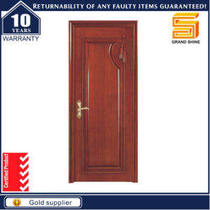 Latest Design MDF Interior Bathroom Wooden Door