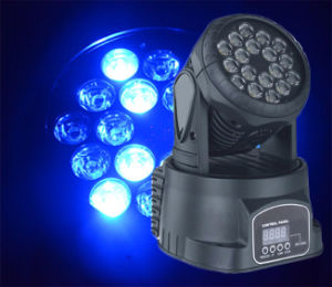 LED 18PCS Small Moving Head Stage Light