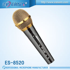 Computer Studio USB Microphone Series Es-8520 (Red/Black)