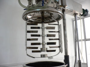 Tilting Hydraulic Lift Vacuum Emulsifying Mixer pictures & photos